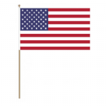 USA Country Hand Flag - Large.